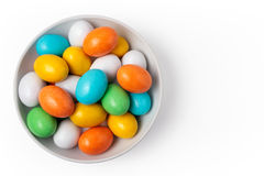 Candy eggs Stock Photos