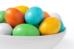 Candy eggs Stock Images