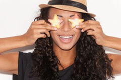 Candy eyes. Royalty Free Stock Photos