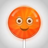 Candy face Royalty Free Stock Images