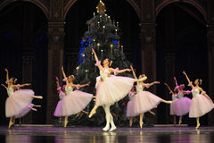 Candy Fairy Dance- The second act second field candy Kingdom -The Ballet  Nutcracker Stock Photo