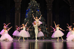 Candy Fairy Dance- The second act second field candy Kingdom -The Ballet  Nutcracker Royalty Free Stock Photo