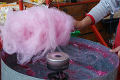 Candy floss Royalty Free Stock Photos