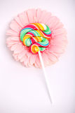 Candy and flower Royalty Free Stock Images