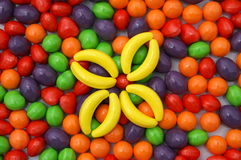 Candy flower Royalty Free Stock Image
