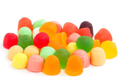 Candy food dessert jujube Royalty Free Stock Images