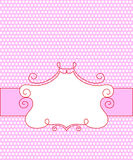 Candy frame Royalty Free Stock Images