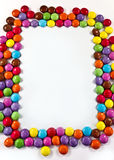 Candy frame Royalty Free Stock Photos