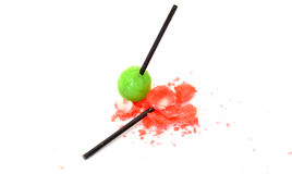 Candy. With fruit flavor, food and color  concept Royalty Free Stock Photography