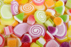 Candy fruit jelly Stock Photos