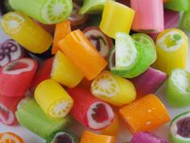 Candy fruit Stock Photography