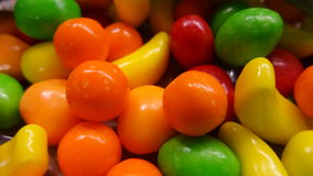 Candy fruits Stock Image