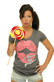 Candy girl Stock Photos