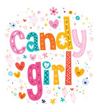 Candy girl Stock Image
