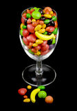 Candy in a Glass Royalty Free Stock Image