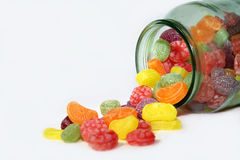 Candy Glass Royalty Free Stock Photography