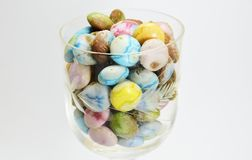 Candy in the glass Royalty Free Stock Photo