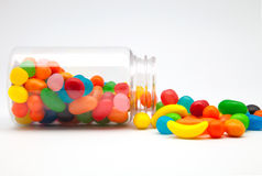 Candy in a glass jar Royalty Free Stock Image