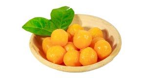 Candy Golden Ball Stock Photos