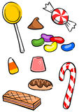 Candy Group Royalty Free Stock Images