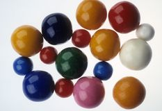Candy gum balls Stock Photos