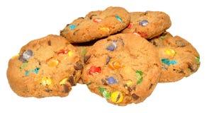 Candy ha coperto i biscotti Fotografia Stock