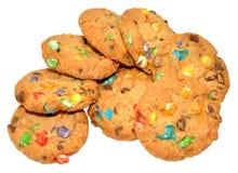 Candy ha coperto i biscotti Fotografia Stock Libera da Diritti