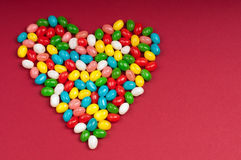 Candy heart Royalty Free Stock Photos