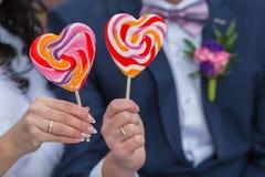 Candy heart Royalty Free Stock Photos