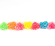 Candy Heart Royalty Free Stock Images