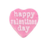 Candy Heart Happy Valentines Day Royalty Free Stock Image