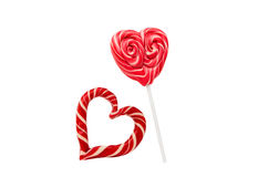candy heart isolated Royalty Free Stock Images