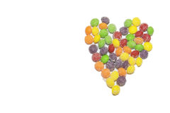 Candy Heart Love Royalty Free Stock Images