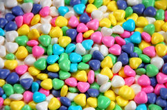 Candy heart mix Royalty Free Stock Images