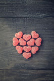Candy heart Stock Photo