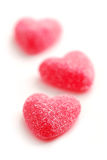 Candy hearts Royalty Free Stock Photography