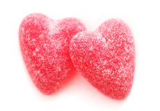 Candy Hearts Stock Photos
