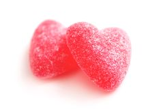 Candy Hearts Royalty Free Stock Photos