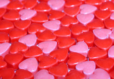 Candy Hearts background. Royalty Free Stock Photos