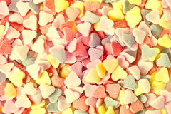 Candy hearts. Pink candy hearts background candy hearts stock photo
