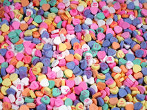 Candy Hearts-Small Royalty Free Stock Image