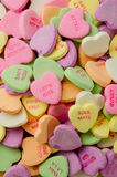 Candy Hearts Vertical Royalty Free Stock Photos