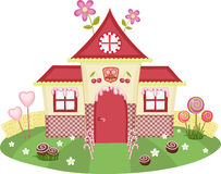 Candy house Stock Image