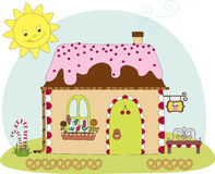 Candy house Royalty Free Stock Image