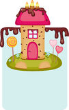Candy house Stock Images