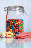Candy jar Royalty Free Stock Photos