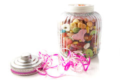Candy jar Stock Image