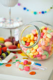 Candy jar Royalty Free Stock Images