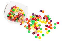 Candy in a jar Royalty Free Stock Photography