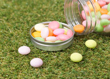 Candy jar Stock Images